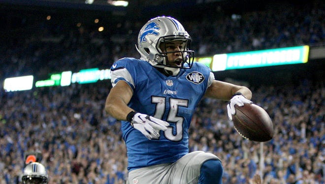 Lions WR Golden Tate
