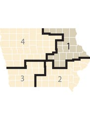 Iowa's 1st Congressional District