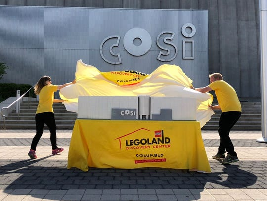 The LEGO COSI model was unveiled Thursday morning.