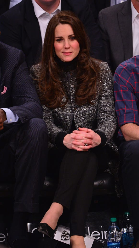 Duchess Kate showed off her J. Crew jeans at a Cleveland
