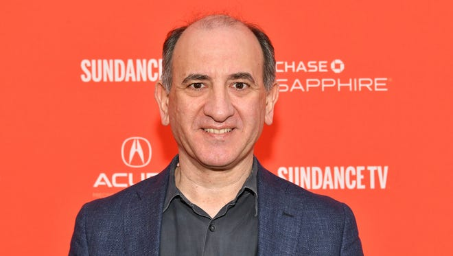 """Filmmaker Armando Iannucci attends the premiere of """"The Death of Stalin"""" on Jan. 20, 2018, in Park City, Utah."""