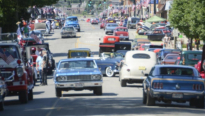 File photo from the 2014 Graffiti Cruise in Bucyrus.