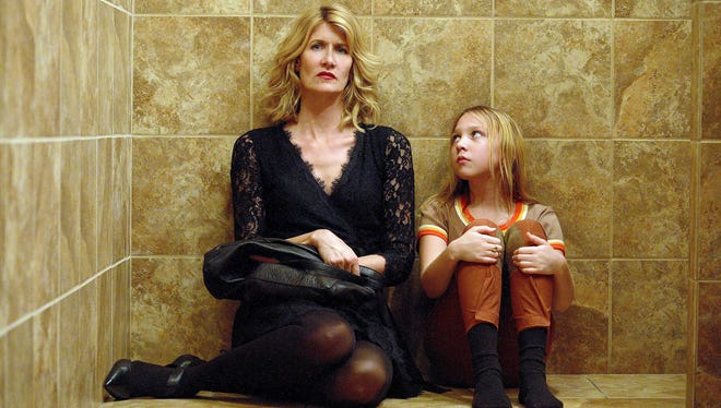 Filmmaker Jennifer Fox (Laura Dern, left) is forced to confront the sexual abuse she endured as a 13-year-old (Isabelle Nélisse) in memoir drama 'The Tale.'