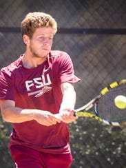 During his first season at Florida State, Lucas Poullain
