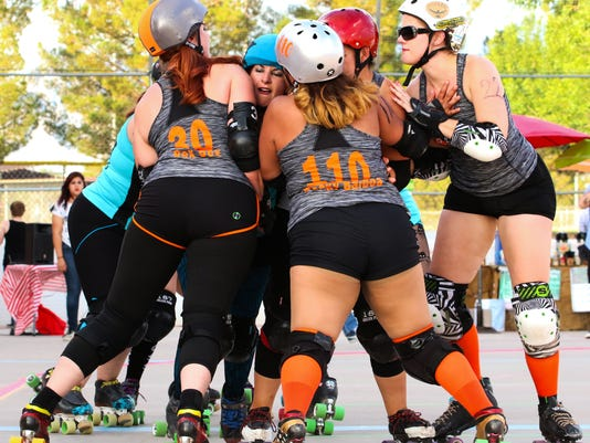 Roller-Derby-1-by-Isaac-Anaya-The-Reguladies-and-Spitfire-Sallies.jpg