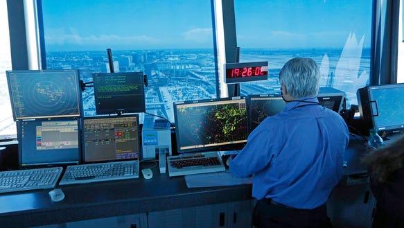 air traffic controller clock