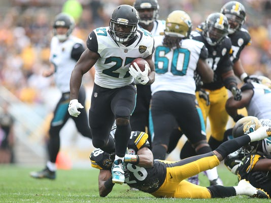 USP NFL: JACKSONVILLE JAGUARS AT PITTSBURGH STEELE S FBN PIT JAC USA PA