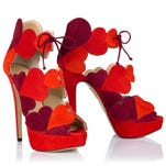 VALENTINE'S DAY FASHIONS Charlotte Olympia 'Head over Heels' shoe, $1,195, Charlotteolympia.com. HANDOUT CREDIT: Charlotteolympia.com [Via MerlinFTP Drop]