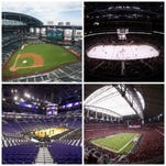 What's the state of Phoenix-area sports teams' stadiums?