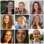 Girls cross country Dream Team, all-area