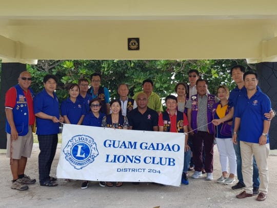 Over the course of three weeks Guam Gadao Lions Club