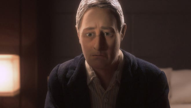 "David Thewlis (""Harry Potter,"" ""The Theory of Everything"") voices Michael Stone in the animated stop-motion film ""Anomalisa."""
