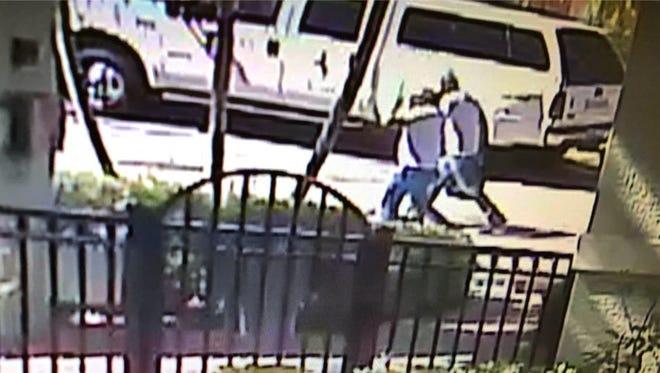 Stuart police release surveillance footage of the suspected burglars.