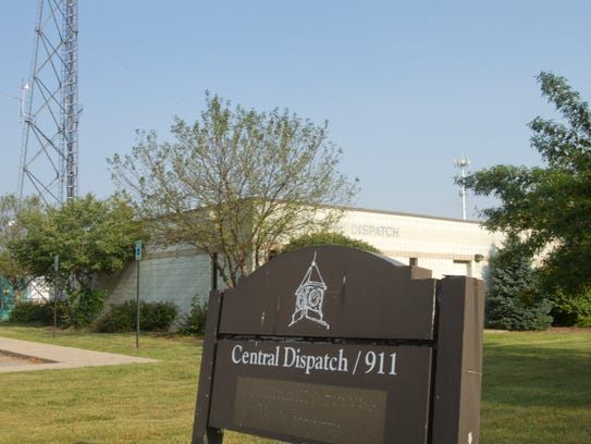 Livingston County's Central Dispatch building is starting