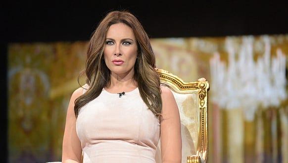 Laura Benanti as Mrs. Trump.