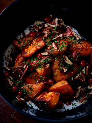 Selden Standard Chef Andy Hollyday's roasted sweet potatoes.
