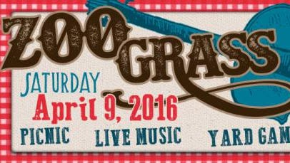 The Alexandria Zoo will hosts Zoo Grass, featuring music, picnicking and games, from 6 to 9:30 p.m. Saturday.