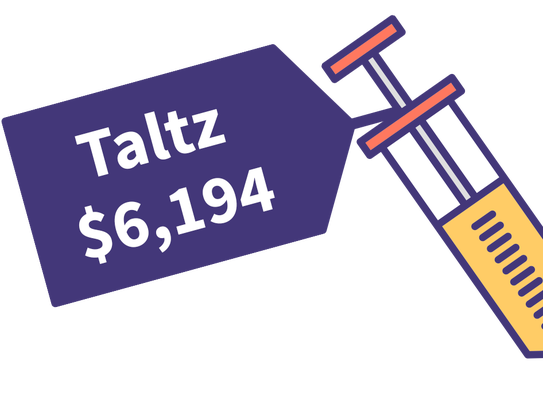 The cost of Taltz
