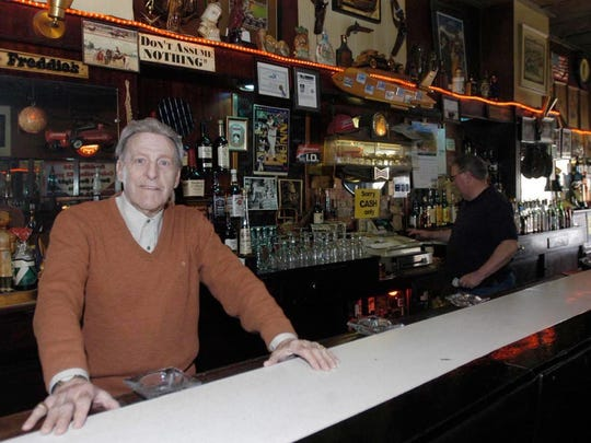 Freddie Scarlott, shown here in 2005, has been forced to close Freddie's Bar and Lounge, a Louisville institution for 57 years.