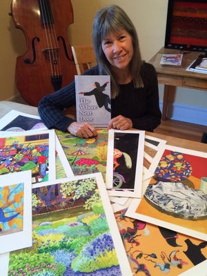 Trumansburg artist Annie Campbell, famous for her GrassRoots Festival program covers, has released a new illustrated memoir.