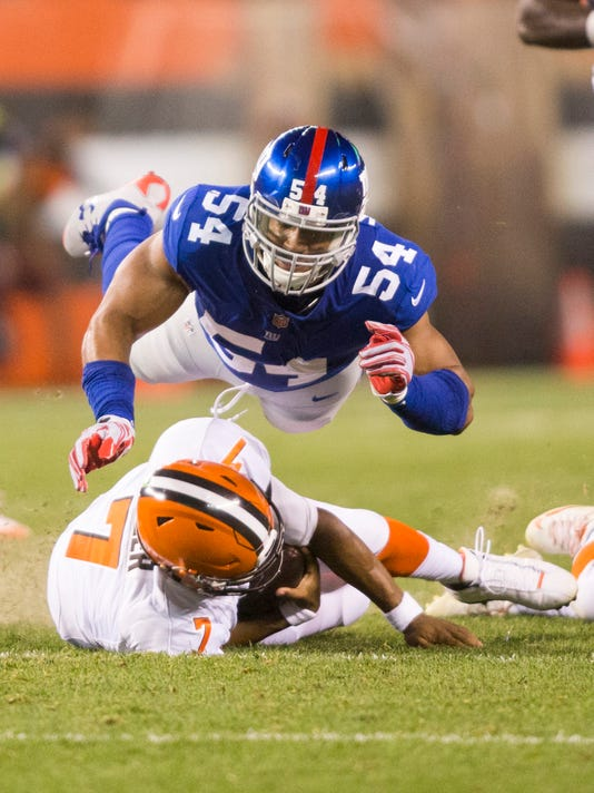 USP NFL: NEW YORK GIANTS AT CLEVELAND BROWNS S FBN CLE NYG USA OH