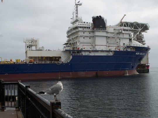 A lease dispute between Offshore Inland and the city has arisen over docking fees.
