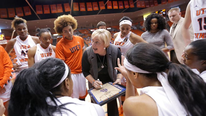 UTEP women's basketball head coach Keitha Adams and her Miner squad are looking to regroup after Thursday's loss to Marshall ended the team's 10-game win streak. On Saturday, the Miners face Western Kentucky, a team that shares the first-place spot in Conference USA with UTEP.