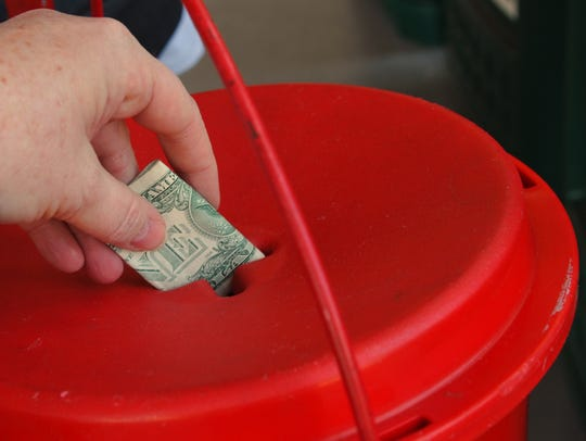 The Salvation Army is a favorite and reliable charity