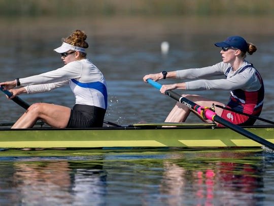 Moorestown High School graduate Lauren Schmetterling (left) will compete in her first Olympics this year.