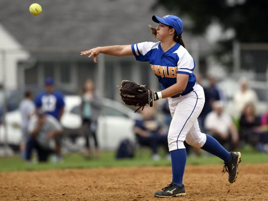 Senior second baseman Erin McFall is back after helping lead Butler to a 28-2 record last fall and a second-straight Morris County Tournament title.