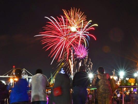 Port Canaveral fireworks
