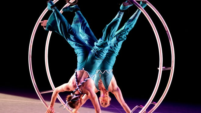 """Mirage! A Circus Life"" takes the stage Sunday in Stowe."