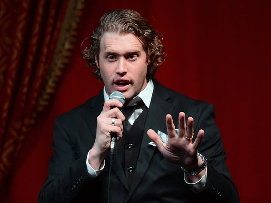 T.J. Miller Performs At Empire Comedy At Paris Las Vegas