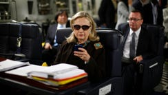 In this Oct. 18, 2011, file photo, then-secretary of