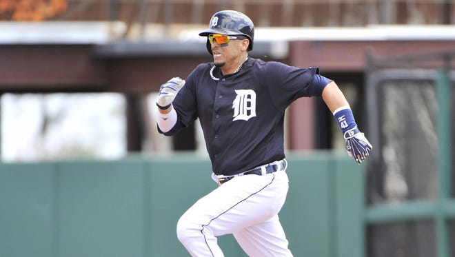 A healthy Victor Martinez, batting in the No. 4 spot, would be a big boost to the Tigers offense.