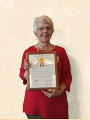 Jean Rausch was awarded a Wisconsin Citation for Outstanding