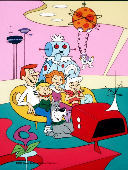 The Jetsons. '