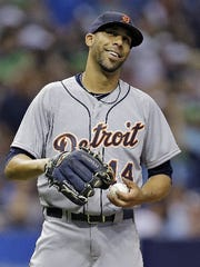 David Price with the Tigers in 2015.