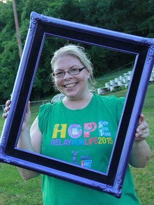 Teresa Meyer, chair of Houston County Relay for Life, poses for a photo at last year's Relay.