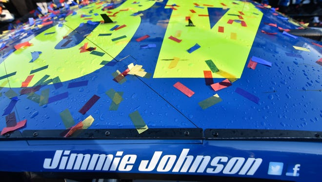 Jimmie Johnson is the clear favorite to win a record-tying seventh title.