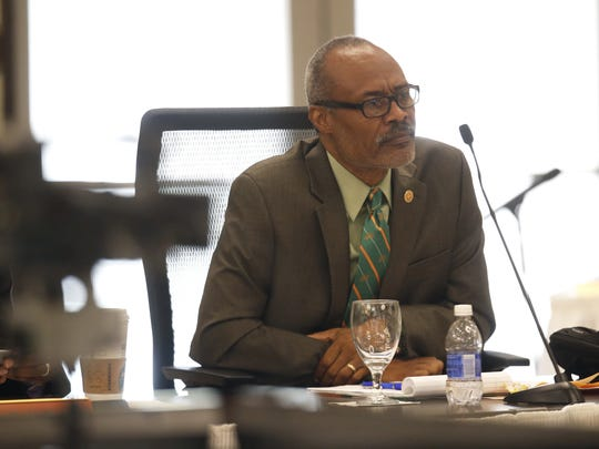 FAMU Board of Trustees member Matthew Carter II was reappointed to new three-year term on Jan. 5, 2018.