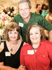 MaryJane Crull, Michael Womack, Kim Womack