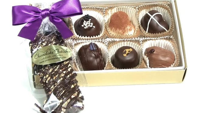 The Chocolate Fetish's award-winning collection.