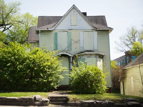 A Victorian house in Fort Sanders on Thursday, April
