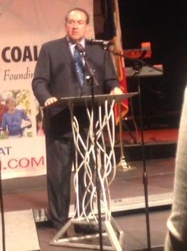 Republican Mike Huckabee