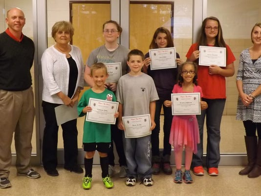 Bucyrus Elementary Commendations.JPG