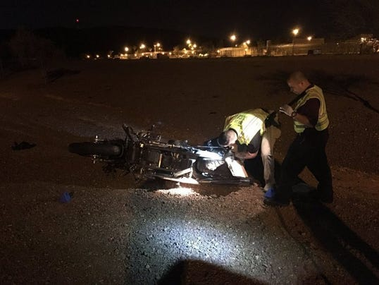 I-17 motorcycle wreck