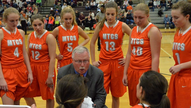 Coach Lynn Burkey and the ninth-ranked MTCS girls basketball team hosts Nashville Christian on Friday.