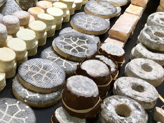 French cheeses.