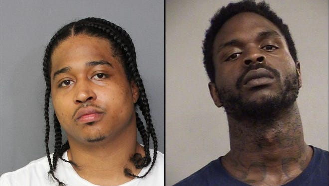 Shane Van Williams, left, and Dion Cummings, right, are accused of killing Joseph Key at his Shively residence on Aug. 21.